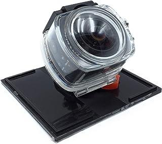 NK AC3078-360 - Cámara de acción 360º, 8 MP con Gran Angular, Carcasa Waterproof incluida, WiFi, Full HD 1080p, LCD 2in, C...
