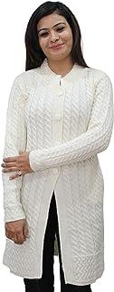 HAUTEMODA Women's Wool Cardigan