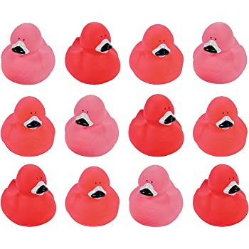 White Grey Ribbon Rubber Duck Breast Cancer Awareness Pack of 6