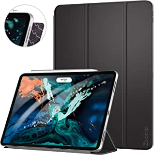 ZtotopCase for iPad Pro 12.9 Inch 2018, Strong Magnetic Ultra Slim Minimalist Smart Case, Trifold Stand Cover with Auto Sleep/Wake for iPad Pro 12.9 Inch 2018 Release (3rd Gen), Black