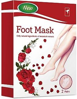 Exfoliating Foot Peel Mask For Softer, Smooth Feet- Gently Peel Away Calluses & Dead Skin, Repair Rough Heels, Get Beautif...