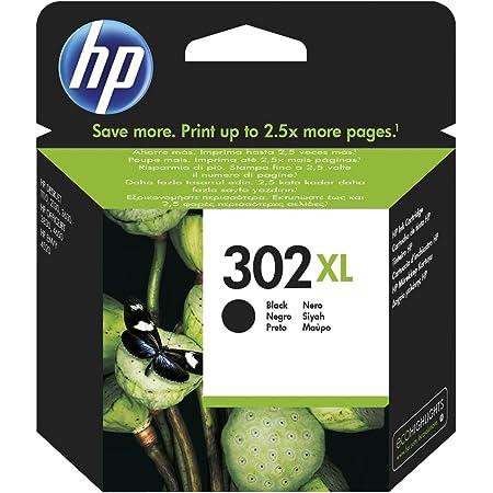HP 302x l High Yield Black Original Ink Cartridge 8.5ml 480páginas Black Ink Cartridge–Ink cartridge for printers (Black, Deskjet 1110, Deskjet 2130AIO, Deskjet 2132AIO, Deskjet 2134AIO, Deskjet 3630AIO, OfficeJet..., High, 8.5ml, 480Pages,