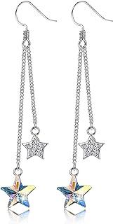 Tiny star wars micro force dangle dangly earrings