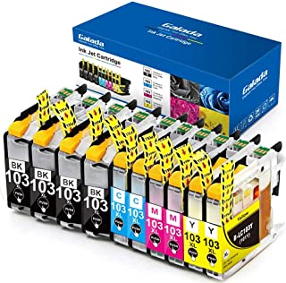 Galada Compatible Ink Cartridges Replacement for LC103 LC103XL Ink Cartridges MFC-J870dw J470DW J475DW lc101 MFC J4310DW J4410DW J4510DW J4610DW J4710DW J285DW J875DW J245 J450DW Printer 10Pack