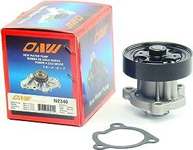 OAW N2340 Engine Water Pump fits 08-15 Nissan Rogue, 02-13 Altima, 02-12 Sentra & 05-06 X-Trail 2.5L QR25DE