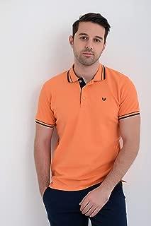 Basic Dinamik Fit Polo Yaka T-Shirt Kayısı