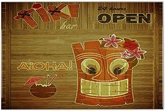 Fliese Kachel Nostalgie Tiki Bar Keramik bedruckt 20x30 cm