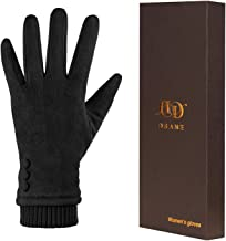 Women Winter Warm Touch Screen Phone Windproof Gloves Wear Lined Thick Gloves