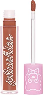 Lime Crime Plushies Soft Matte Lipstick, Butterscotch - Sheer Golden Brown - Blackberry Candy Scent - Long Lasting, Nude L...