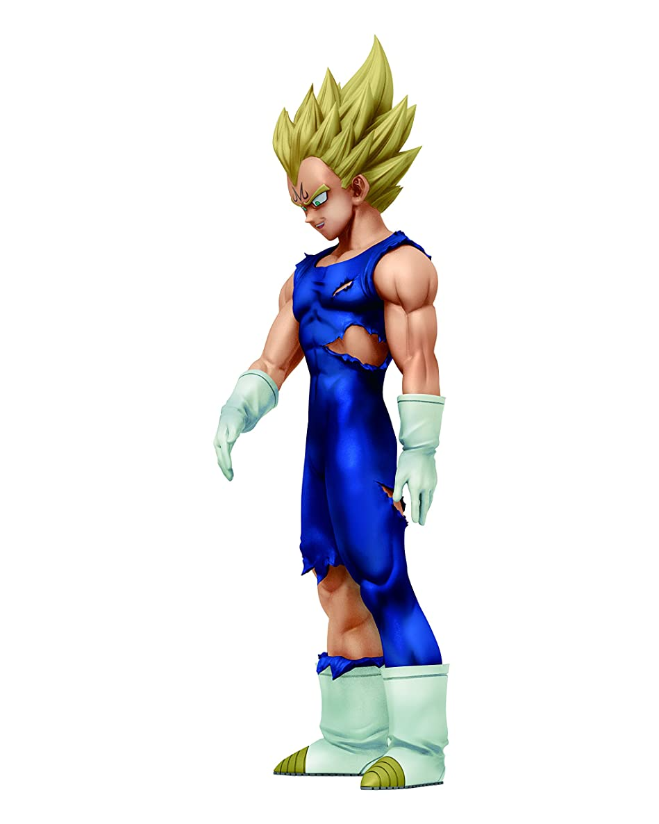 Banpresto - Figurine DBZ - Majin Vegeta Super Saiyan Dramatic Showcase 16cm - 3296580253500