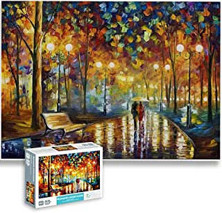 Jigsaw Puzzles for Adults 1000 Pieces Interesting Toys Brain Teaser Jigsaw Puzzles Unique Hard Puzzles Games(Street Sceme)