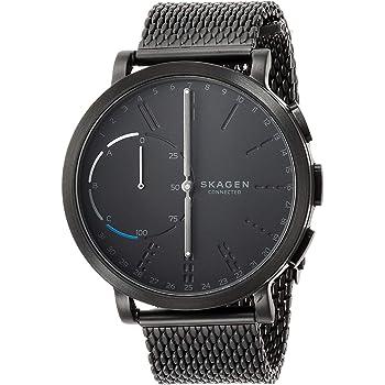 SKAGEN スカーゲン 腕時計 HAGEN CONNECTED ハイブリッドスマートウォッチ SKT1109 メンズ ブラック ステンレスベルト [並行輸入品]
