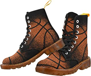 Artsadd Fashion Shoes Basketball Lace Up Boots For Women
