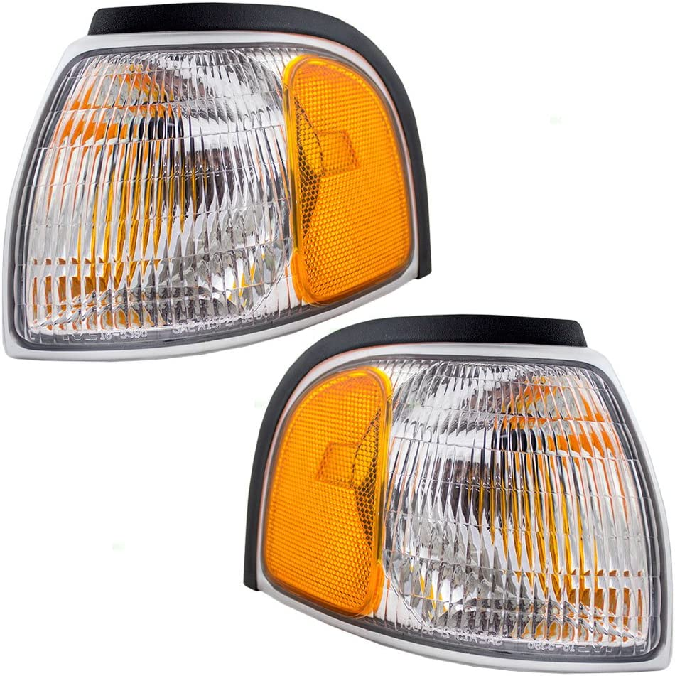Driver and Passenger Park Signal Corner Atlanta Mall Selling Marker Lights Lamps Lens