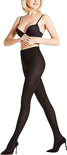 FALKE Strumpfhose Seidenglatt 40 Denier Damen schwarz hautfarbe viele weitere Farben verstärkte Feinstrumpfhose ohne Muster transparent reißfest dünn und glänzend 1 Stück
