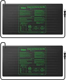 iPower GLHTMTLX2 2-Pack Durable Waterproof Seedling Mat 48
