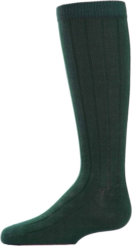 MeMoi Boys Basic Ribbed Crew Socks 3-Pack