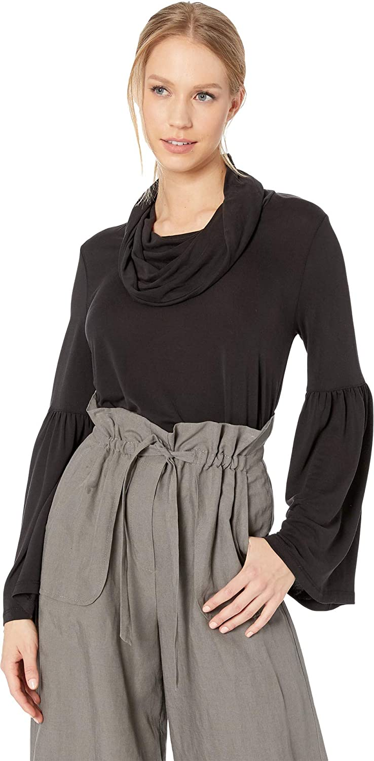 BB Dakota Junior's Day and Night Modal Jersey Cowl Neck top