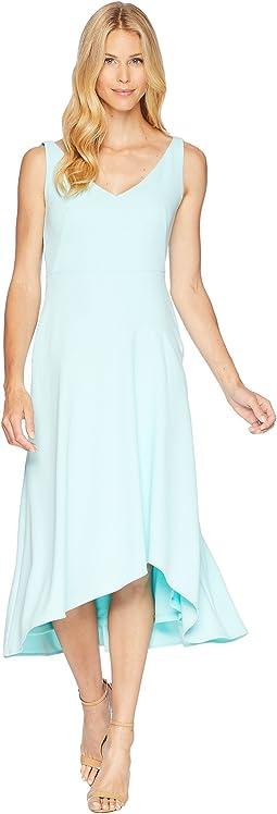 Sweetheart Neck Asymmetric Hem Dress CD8C11NH