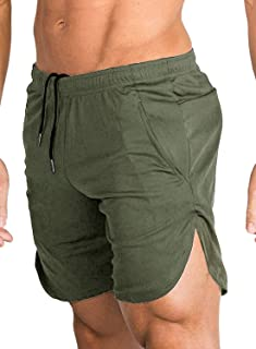 COOFANDY Men's Gym Workout Shorts Running Short Pants Fitted Training Bodybuilding Jogger with Pockets