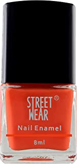 Street Wear Nail Enamel, Orange Hues, 8ml