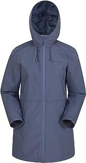 Mountain Warehouse Hilltop Chaqueta Impermeable para Mujer - Ligera, para Lluvia, Transpirable, Costuras Selladas, Ajustab...