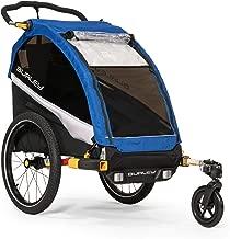 Burley D'Lite Single, 1 Seat Kids Bike Trailer & Stroller