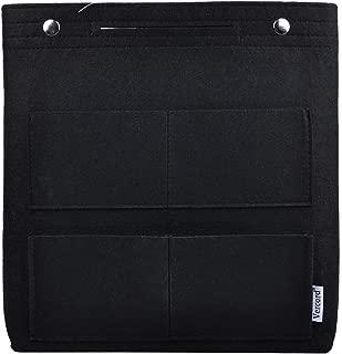 Felt Tall Long Purse Tote Backpack Bag Insert Organizer Inside for Women
