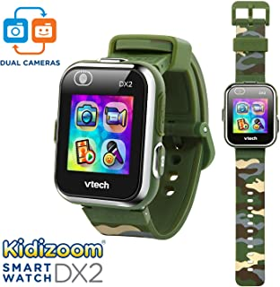 VTech Kidizoom Smartwatch DX2, Camouflage (Amazon Exclusive)