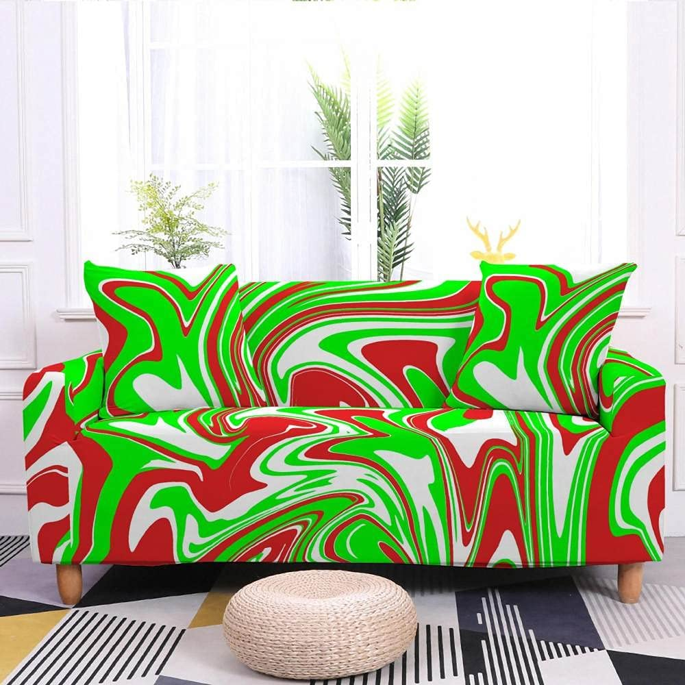 Sofa Slipcovers Large special price !! Abstract Water Ripple NEW Nordic St Pattern Marbling