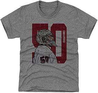 500 LEVEL Corey Crawford Chicago Hockey Kids Shirt - Corey Crawford Sketch 50