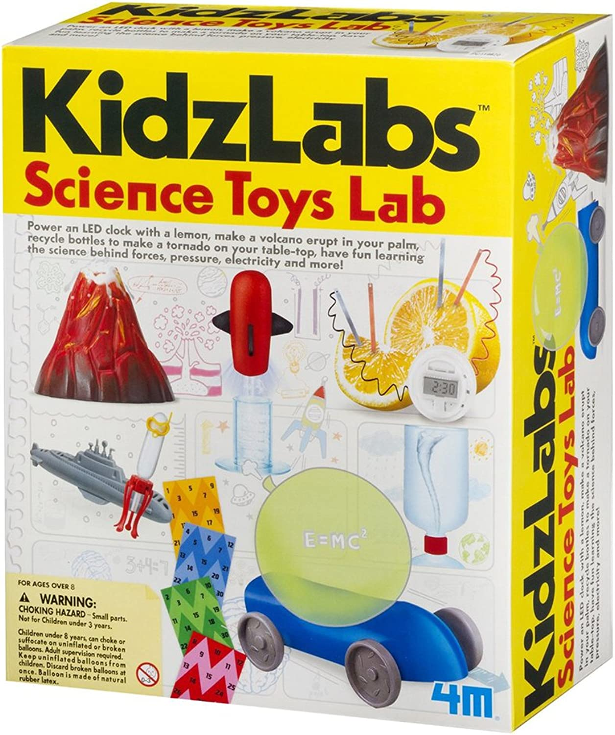 4M  KidzLabs Science Lab Toys (MultiColour)