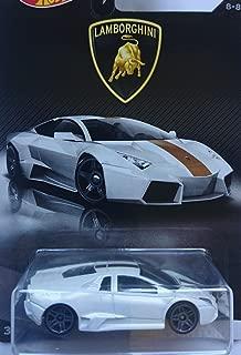 Hot Wheels 2017 Lamborghini Series Replacement for Lamborghini Reventon 8/8, White