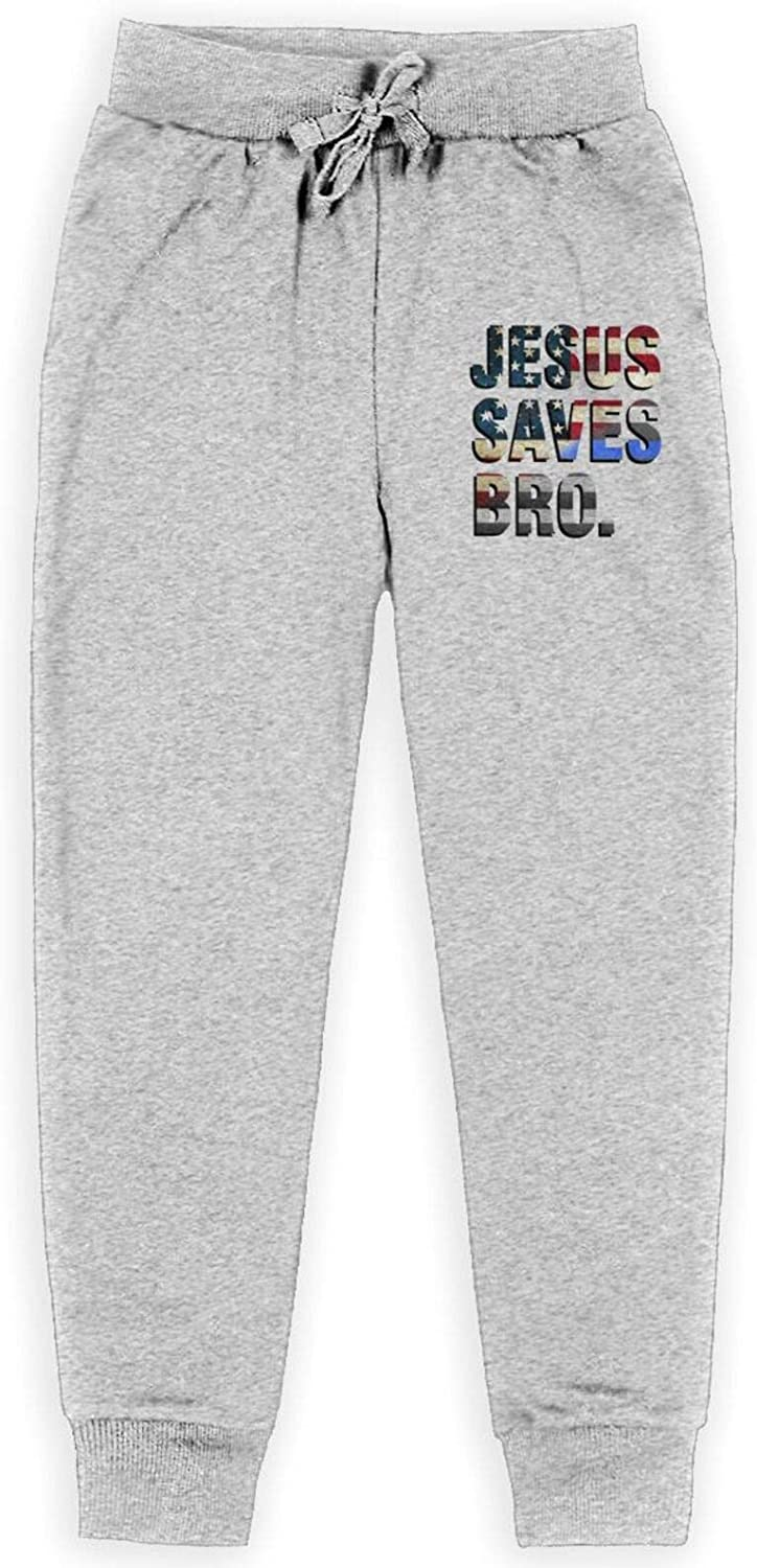 Jesus Saves Bro Christian Children's 1 year warranty Pants OFFicial mail order Cotton Training All P