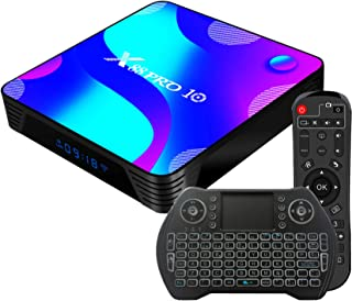 Android 10.0 TV Box 4GB 64GB Decodificador Smart TV Box RK3318 USB 3.0 1080P ultra HD 4K HDR WiFi 2.4GHz 5.8GHz BT 4.1 Rep...