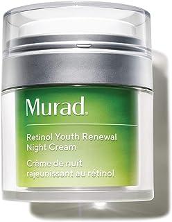 Murad Resurgence Retinol Youth Renewal Night Cream - Retinol Cream for Lines and Wrinkles - Anti-Aging Night Face Cream - Night Cream for Face Firming and Smoothing, 1.7 Fl Oz