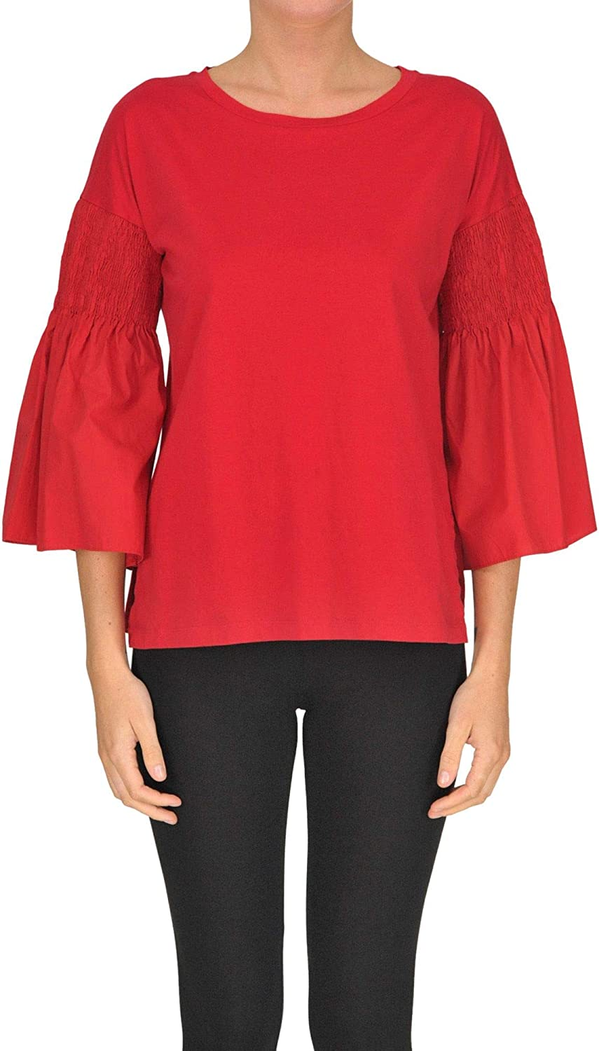 Seventy Women's MCGLTPS000005134E Red Cotton TShirt