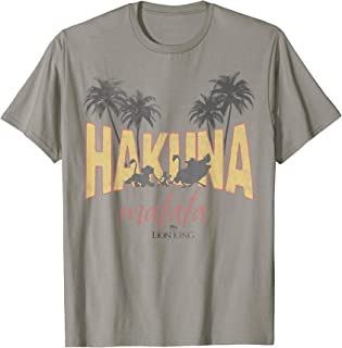 Disney Lion King Vintage Hakuna Matata Logo Graphic T-Shirt