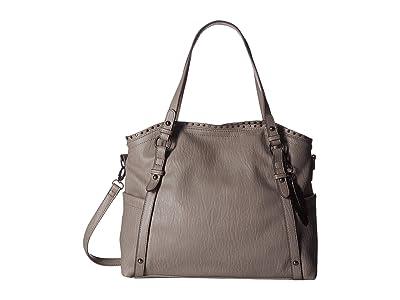 Jessica Simpson Misha East/West Crossbody Tote (Fog) Tote Handbags