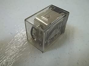 NTE Electronics R14-11D10-24 Series R14 General Purpose DC Relay, DPDT Contact Arrangement, 10 Amp, 24 VDC