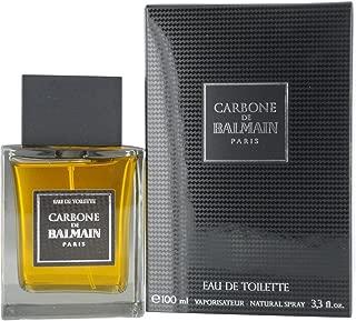 BALMAIN Carbone De Balmain Paris Eau De Toilette Spray for Men, 3.3 Ounce
