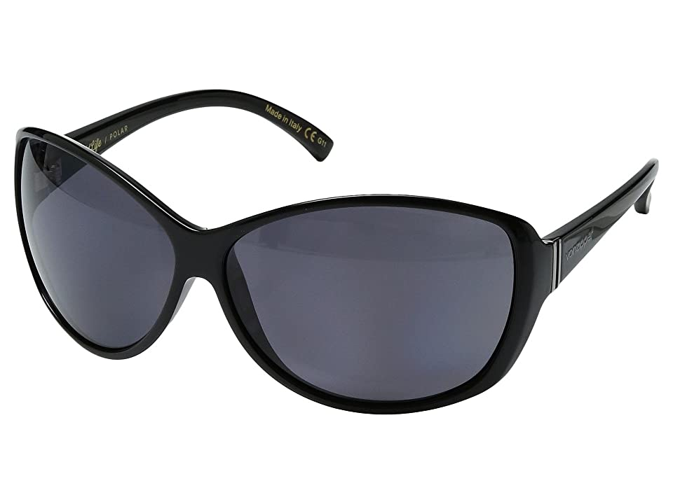 VonZipper Vacay Polar (Black Gloss/Wild Vintage Grey Polar) Sport Sunglasses