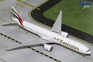 Gemini200 Emirates B777-300ER A6-ENG 1:200 Scale Diecast Model Airplane, White