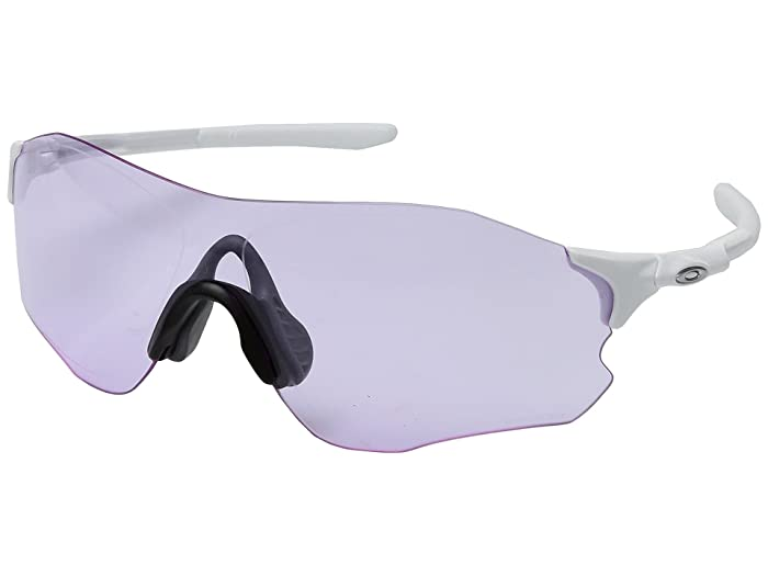 Oakley  (A) EVZero Path (Polished White with Prizm Low Light) Fashion Sunglasses