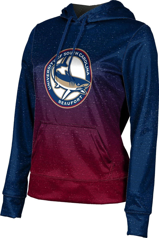 University of South Carolina Beaufort Girls' Pullover Hoodie, School Spirit Sweatshirt (Ombre)