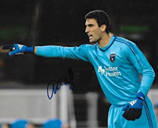 Andrew Tarbell signed San Jose Earthquakes 8x10 photo autographed MLS Soccer - Autographed Soccer Photos