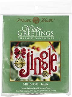 Jingle - Counted Glass Bead Kit with Charm - MH16-8302