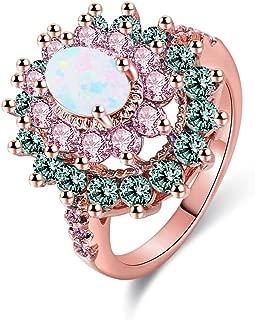 Best rose gold opal wedding ring Reviews