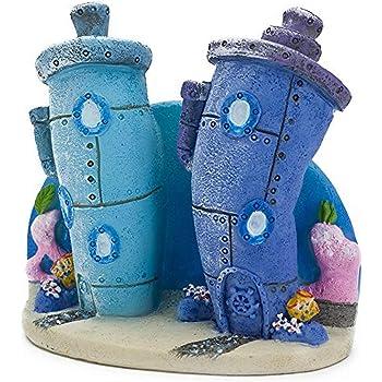 Penn-Plax Spongebob Bikini Bottom Homes Aquarium Ornament