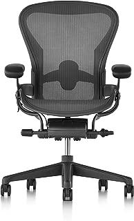 Herman Miller Aeron Chair, B, Graphite - AER1B21HWAJG1G1G1BBBK23103